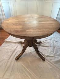 how to refinish a wood table how to re stain a wood table great step by step tutorial diy