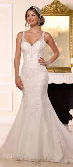 s wedding dress best 25 wedding dresses with straps ideas on lace
