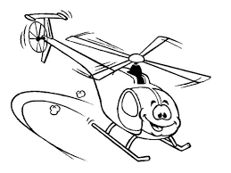 helicopter coloring pages coloringsuite