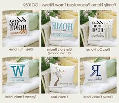 engraved pillows personalized family name throw pillows engraved pillows amazing