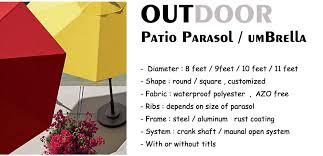 Beer Logo Patio Umbrellas Sunshae Outdoor Printing Umbrella Brand Printing Parasol Beer