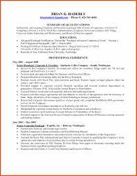 Personal Injury Paralegal Resume Sample Paralegal Resume Program Format