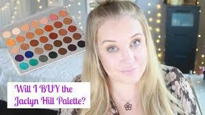 will i buy it new jaclyn hill x morphe eyeshadow palette 2017