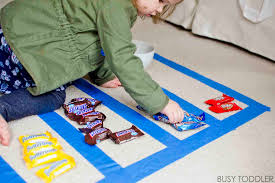 graphing candy with toddlers busy toddler