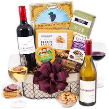 wine picnic gift basket by gourmetgiftbaskets