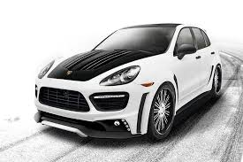 porsche cayenne white 2013 porsche cayenne turbo black bison edition by wald