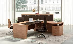 Wooden Executive Office Chairs Relax At Work Behind The X10 Executive Office Desk