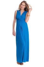 maternity clothes sale seraphine jo knot front maternity and nursing maxi dress