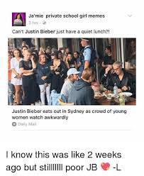 School Girl Meme - ja mie private school girl memes 3 hrs can t justin bieber just have