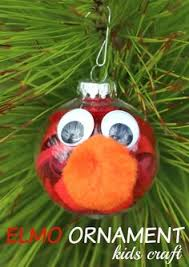personalized elmo tree ornament by patternoldies on etsy
