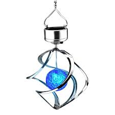 solar powered wind chime light wind chimes lightahead spiral spinner solar wind chime with