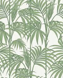 honolulu palm green wallpaper palm u0026 tropical leaf wallpaper