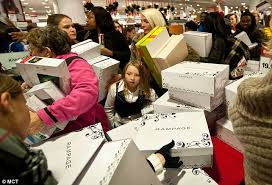 black friday columbia black friday sales down from last year as more people go shopping