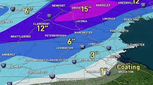 Weather Map New England by Weather New England Necn