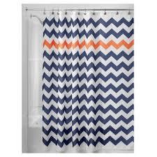 Orange And Blue Shower Curtain Orange Shower Curtains U0026 Liners Target