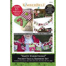 happy everything sale kimberbell happy everything pocket tags banners machine