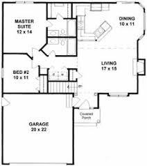 plan 10088tt bungalow with optional width bungalow