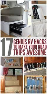24 Easy Rv Organization Tips by Organize Your Rv Motorhome Or Travel Trailer With These Space