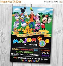 the 25 best mickey mouse clubhouse invitations ideas on pinterest