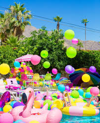 pool party ideas 30th birthday pool party ideas that will make a splash brit co