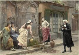 The Dinner Party Painting Jules Grun - a distraction from studies jules girardet girardet pinterest