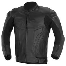 sport bike jacket alpinestars black shadow phantom leather jacket sportbike gear