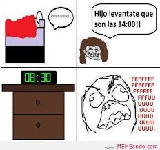 Memes Para Facebook En Espaã Ol - rage faces memes para facebook en espa祓ol memeando com