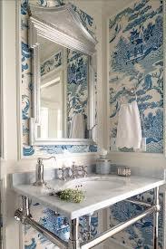 Wallpapered Bathrooms Ideas 1635 Best Bathroom Images On Pinterest Bathroom Ideas Master