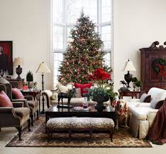 holiday living room scene at the polohouse midwest living