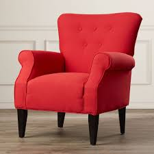 Red Living Room Chairs  SL Interior Design - Best living room chairs