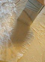 Make Textured Paint - diy tissue paper ceiling hides everything tissue paper
