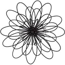 Metal Flower Wall Decor - art polyvore