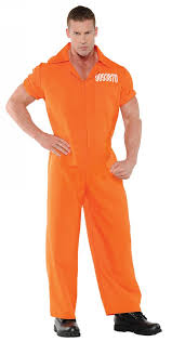 men costumes convict or prisoner costumes for adults nightmare factory 1 of 1