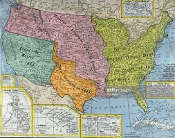 United State Map by Early United States Map Pictures Getty Images