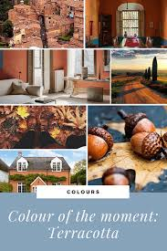 colour of the moment terracotta seasons in colour interior