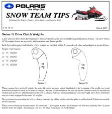 primary weights archive snowest snowmobile forum