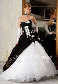 brautkleid schwarz weiss details zu neu schwarz weiß a linie brautkleider hochzeitskleider