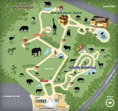 chicago zoo map pin by annabelle casillas on activities for
