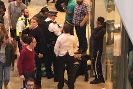 man stabbed in u0027mass brawl u0027 at westfield shopping centre in