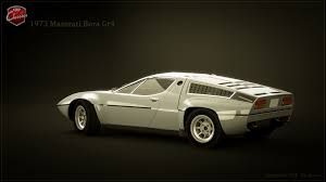 maserati brown artstation 1973 maserati bora group4 tim brown