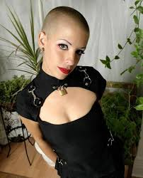 womens buzzed and bold haircuts 403 best the buzz is in images on pinterest hair cut bald women