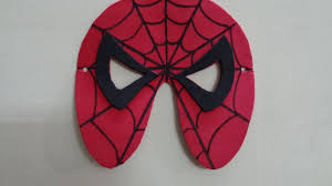 paper crafts foam crafts for kids diy spiderman mask youtube