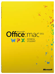 microsoft office for mac home and student 2011 licence card 1