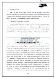 successes factors of nike u0027s growth