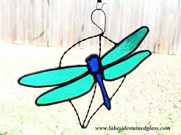 stained glass dragonfly ornament for s day lakeside