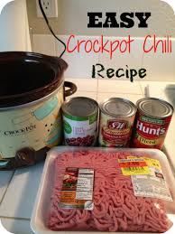 5 ingredient crockpot chili recipe the typical mom keeprecipes