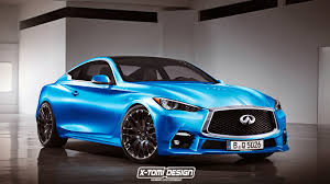 infiniti car q60 infiniti q60 rendered in production guise gtspirit