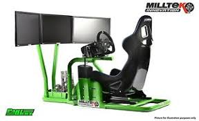 Racing Simulator Chair Milltek Innovation Racing Simulator Frame For Ultimate Gaming Chair