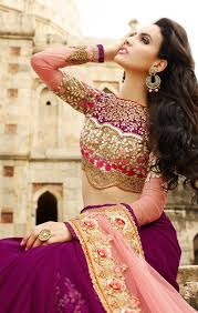 saree blouse styles buy half sari blouse styles pattern in fashion trend of