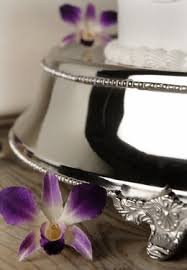 cake stand wedding silver plated wedding cake stand